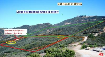 Malibu CA Residential Lots & Land For Sale: $125,000