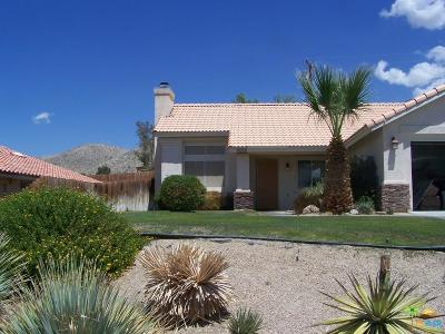 Desert Hot Springs Single Family Home For Sale: 66238 Avenida Suenos