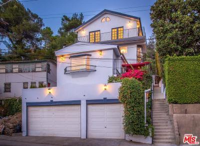 Hollywood Hills East (C30) Single Family Home For Sale: 2482 Cheremoya Avenue