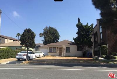 Culver City Residential Lots & Land Sold: 3846 Bentley Avenue