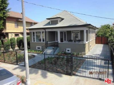 Los Angeles Single Family Home For Sale: 1011 West 20th Street