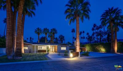 Palm Springs Single Family Home For Sale: 4 Palomino Road
