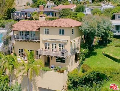 Pacific Palisades Single Family Home For Sale: 17733 Porto Marina Way