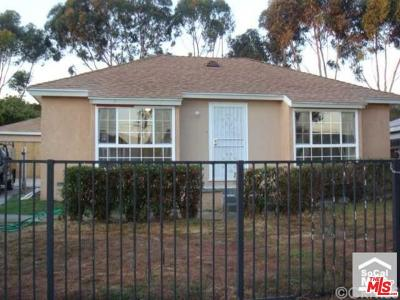 Los Angeles Single Family Home For Sale: 825 East 118th Street