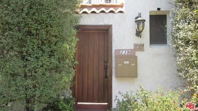 Beverly Hills Rental For Rent: 237 South Doheny Drive