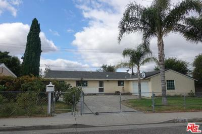 Simi Valley Single Family Home For Sale: 1482 Graham Street