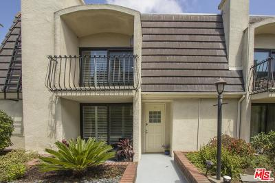 Playa Del Rey Condo/Townhouse For Sale: 8125 Redlands Street #107