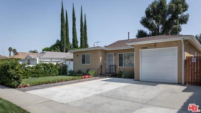 Single Family Home For Sale: 18724 Covello Street