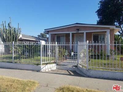 Los Angeles Single Family Home For Sale: 1400 East 77th Street