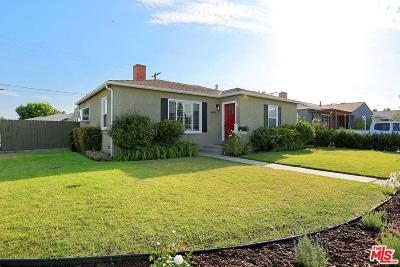 Culver City Single Family Home For Sale: 4843 Beloit Avenue