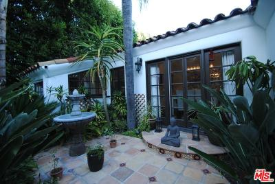 West Hollywood Rental For Rent: 1240 North Olive Drive