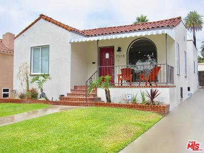 Los Angeles Single Family Home For Sale: 7319 Lasalle Avenue