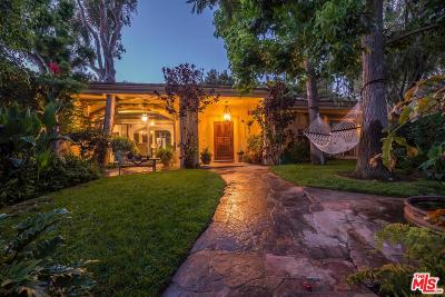 Pacific Palisades Single Family Home For Sale: 17955 Seabreeze Drive