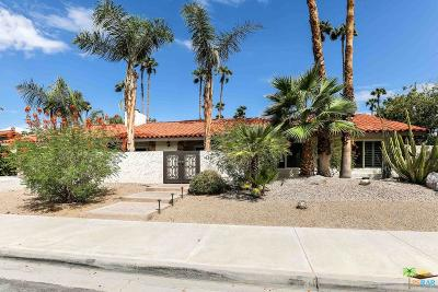 Palm Springs Single Family Home For Sale: 1486 South Cerritos Drive