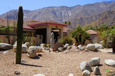 Palm Springs Single Family Home For Sale: 495 West Santa Elena Road