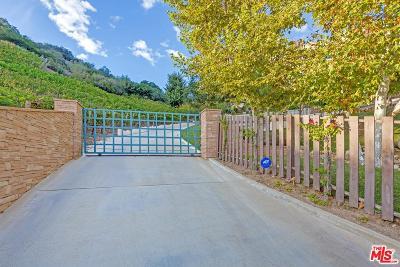 Topanga Single Family Home For Sale: 21403 Greenbluff Drive