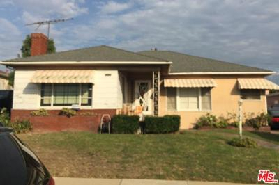 Single Family Home Closed: 6216 Flores Avenue
