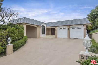 Beverly Hills Single Family Home For Sale: 570 Chalette Drive