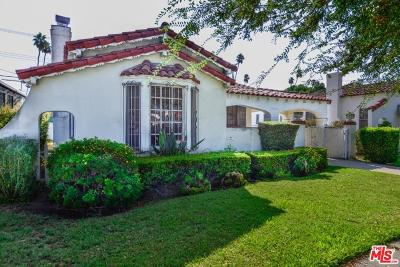 Los Angeles Single Family Home For Sale: 3810 Roxton Avenue