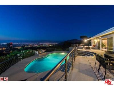 Sunset Strip - Hollywood Hills West (C03) Single Family Home For Sale: 3201 Bonnie Hill Drive