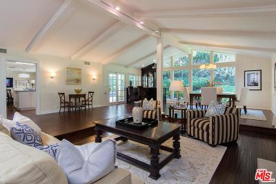 Los Angeles Single Family Home For Sale: 8331 Skyline Drive