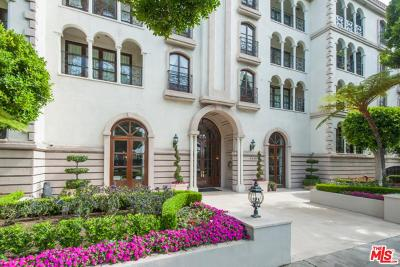 Beverly Hills Condo/Townhouse For Sale: 9249 Burton Way #206