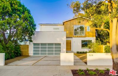Venice Single Family Home For Sale: 1518 Glenavon Avenue