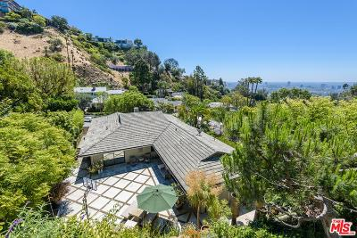 Sunset Strip - Hollywood Hills West (C03) Single Family Home For Sale: 1461 Rising Glen Road