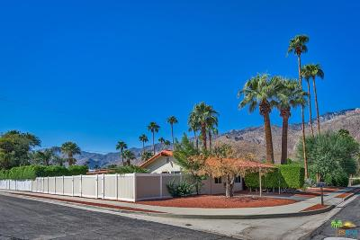 Palm Springs Single Family Home For Sale: 1153 East San Lucas Road