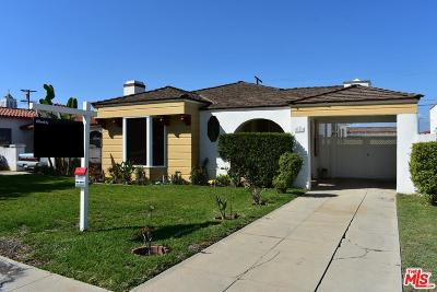 Los Angeles Single Family Home For Sale: 3111 West 79th Street