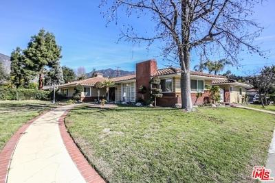 Arcadia Single Family Home For Sale: 1300 North Santa Anita Avenue