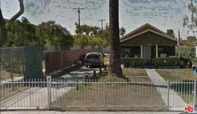 Los Angeles Single Family Home For Sale: 1376 East 111th Street