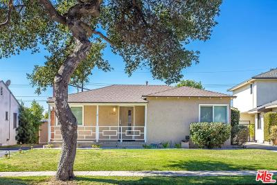 Burbank Single Family Home For Sale: 1129 North Fairview Street