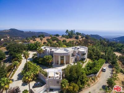 Malibu Single Family Home For Sale: 1807 Latigo Canyon Road