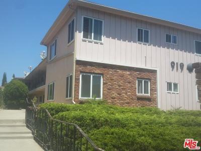 Inglewood Condo/Townhouse Closed: 919 East La Palma Drive #8