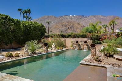 Palm Springs Single Family Home For Sale: 343 East Via Colusa
