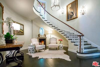 Beverly Hills Single Family Home For Sale: 1110 Benedict Canyon Drive