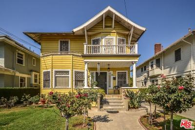 Los Angeles Single Family Home For Sale: 1321 South Harvard