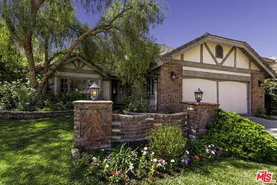 Agoura Hills Single Family Home For Sale: 29112 Oakpath Drive