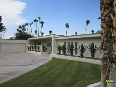 Palm Springs Single Family Home For Sale: 2290 South Yosemite Drive