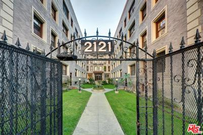 Los Angeles Condo/Townhouse For Sale: 2121 James M Wood #423