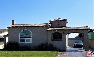 Los Angeles Single Family Home For Sale: 9422 La Salle Avenue