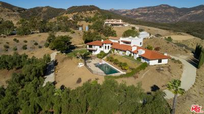 Malibu Single Family Home For Sale: 33261 Decker School Road