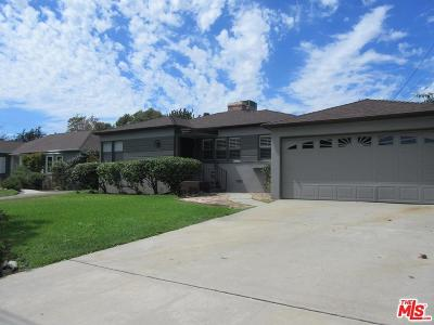Burbank Single Family Home For Sale: 815 East Valencia Avenue