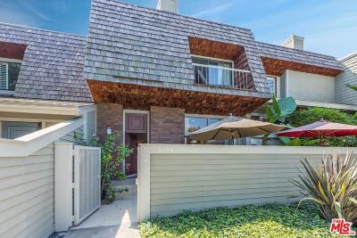 Marina Del Rey Condo/Townhouse For Sale: 4344 Glencoe Avenue #5