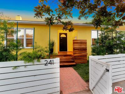 Venice CA Single Family Home For Sale: $2,188,000