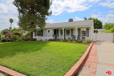 Valley Village Single Family Home For Sale: 12138 La Maida Street