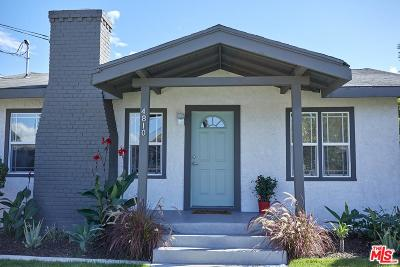 Los Angeles Single Family Home For Sale: 4810 Templeton Street