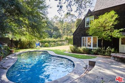Beverly Hills Single Family Home For Sale: 1722 Benedict Canyon Drive