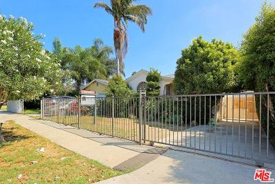 Los Angeles Single Family Home For Sale: 3050 Potomac Avenue